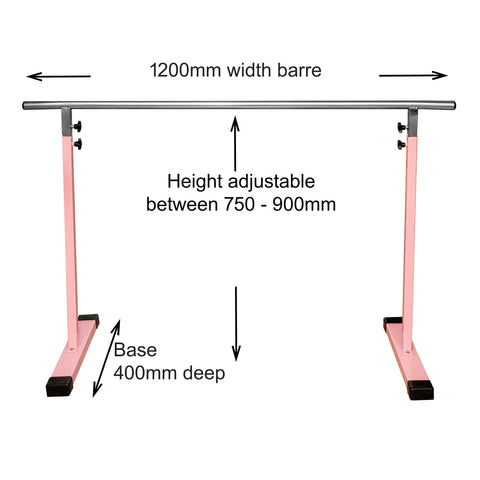 Junior Ballet Barre (freestanding & fully adjustable)