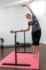 Ballet and Pilates Barre (freestanding & fully adjustable) Lowest price, best quality. Fast shipping. Made in UK