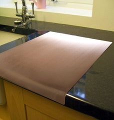 Copper Worktop Saver 500 x 500mm Round edge