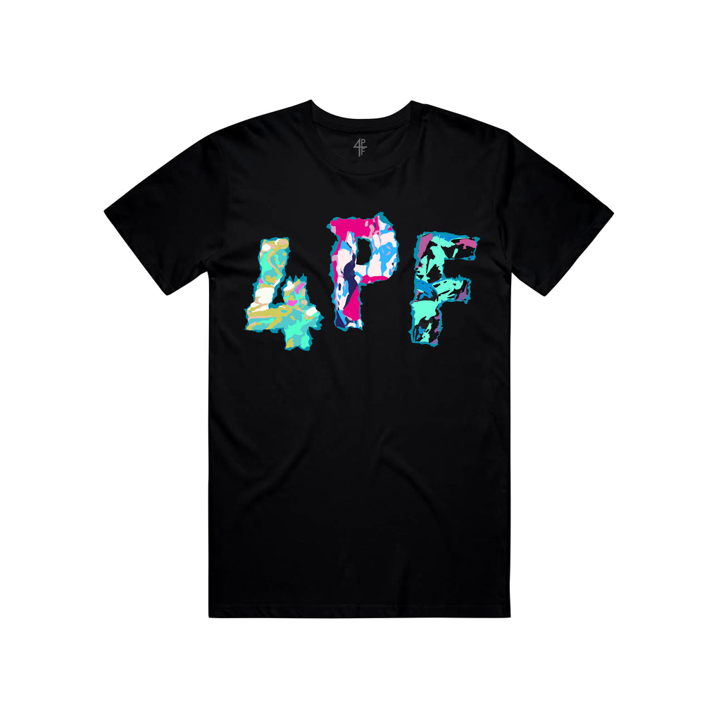 4PF Colors Tee - Black