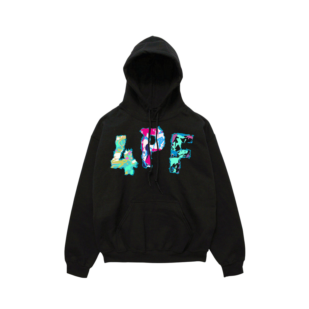 4PF Colors Hoody - Black