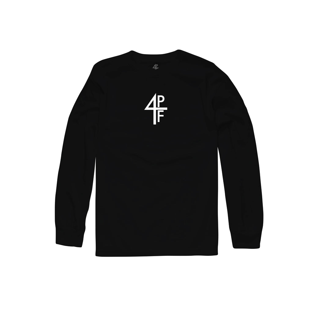4PF Logo Long Sleeve - Black