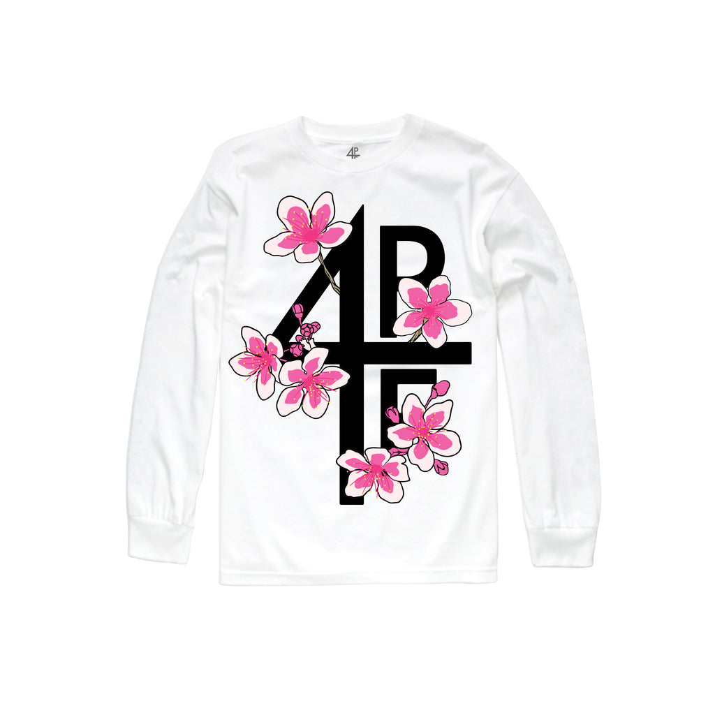 Blossoms Long Sleeve - White