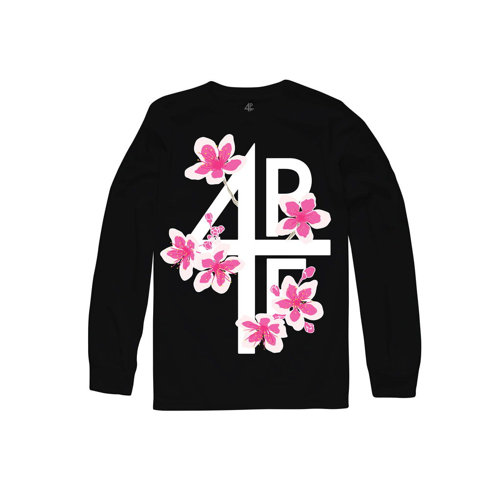 Blossoms Long Sleeve - Black
