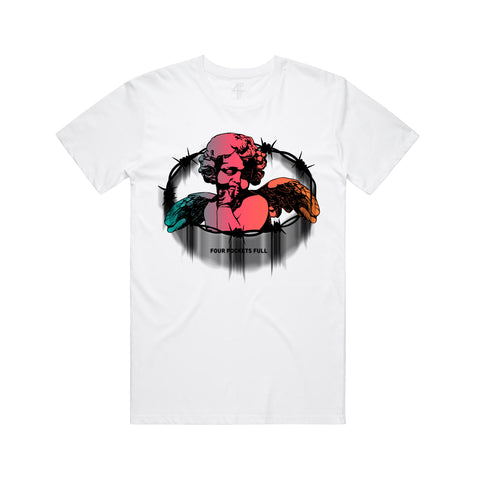 Barbed Angel Tee - White