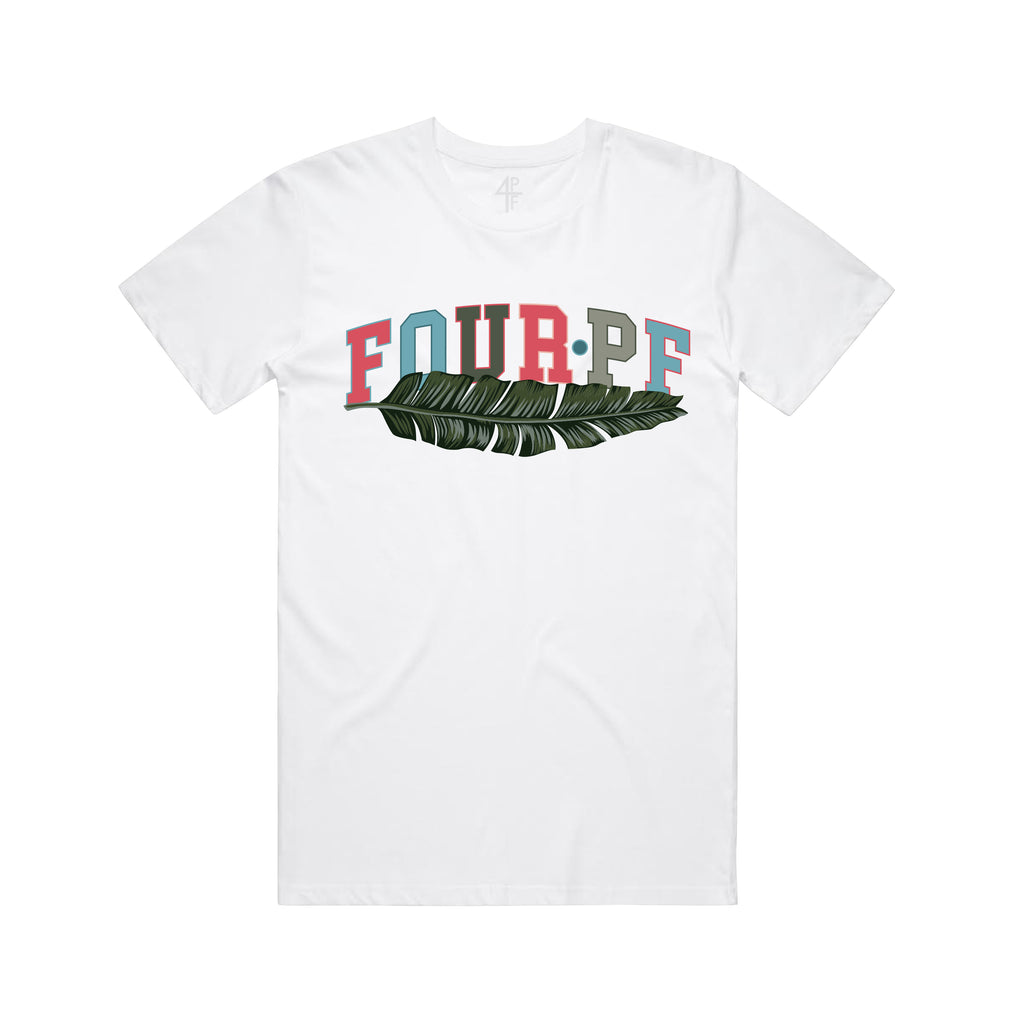 FourPF Branch Tee - White