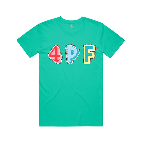 4PF Colors Tee - Teal