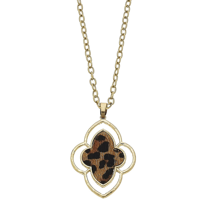 18726N-LEO Leopard Moroccan Pendant by Crave