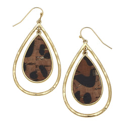 19725E-LEO Teardrop Earring by Crave