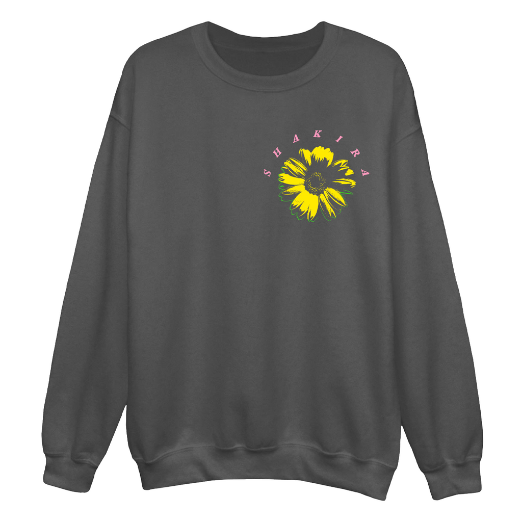 Donde Estas Corazon Crewneck Sweatshirt - Black