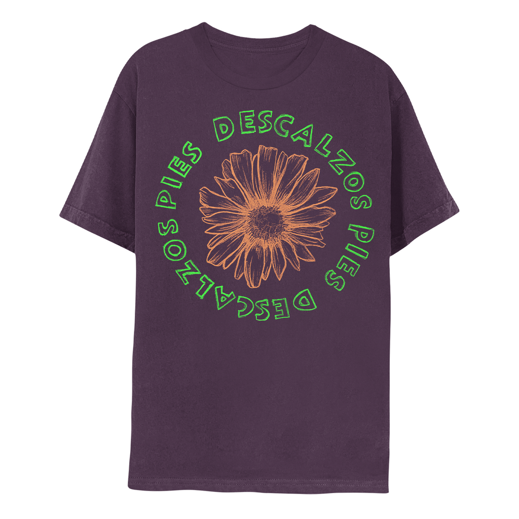 Pies Descalzos Flower Tee - Wine