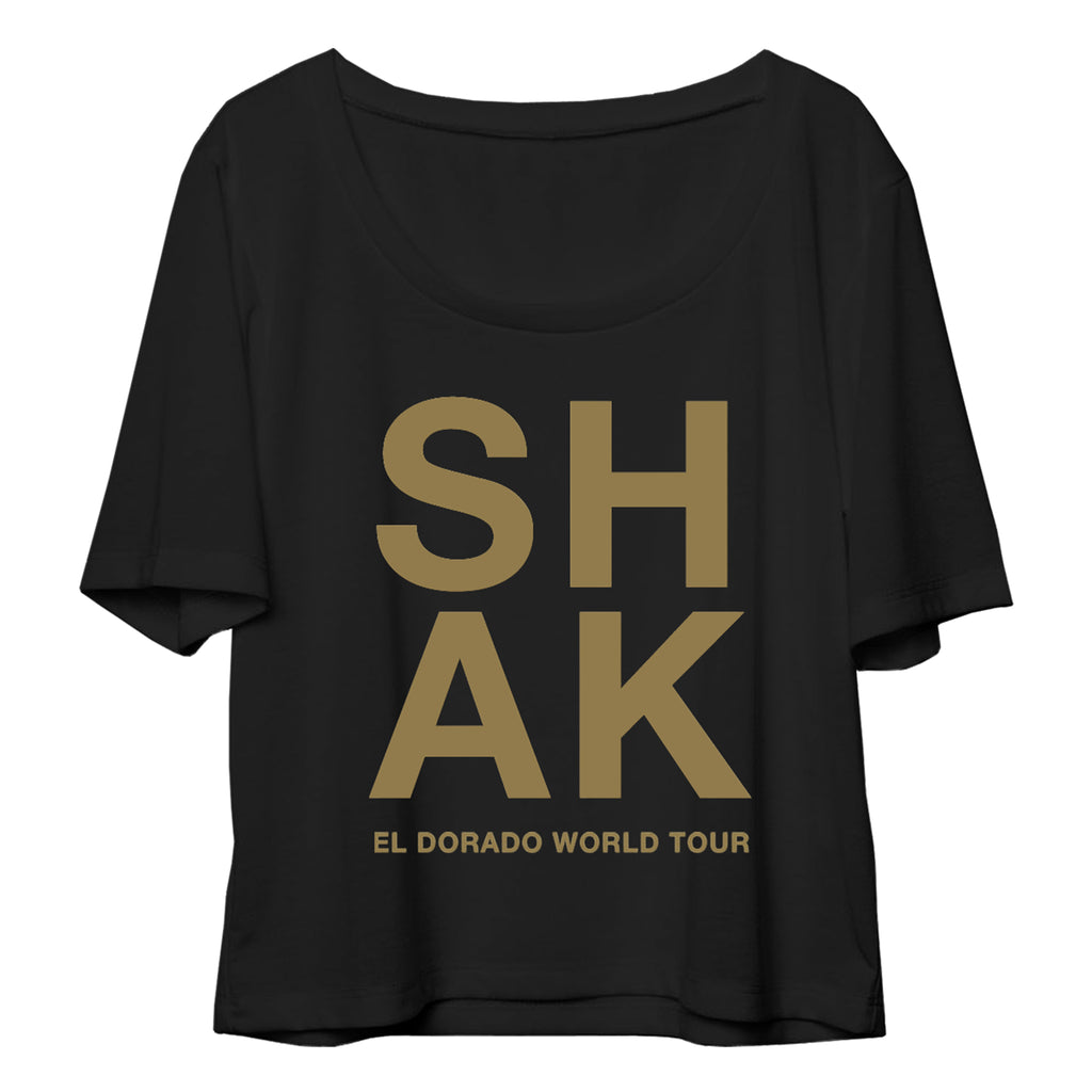 Shak El Dorado World Tour Crop Top - Shakira