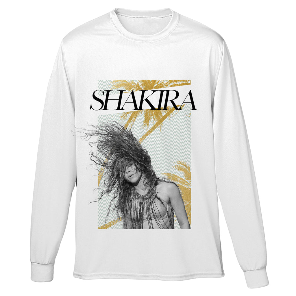 Shakira Photo Long Sleeve Tee - Shakira 579f773d225