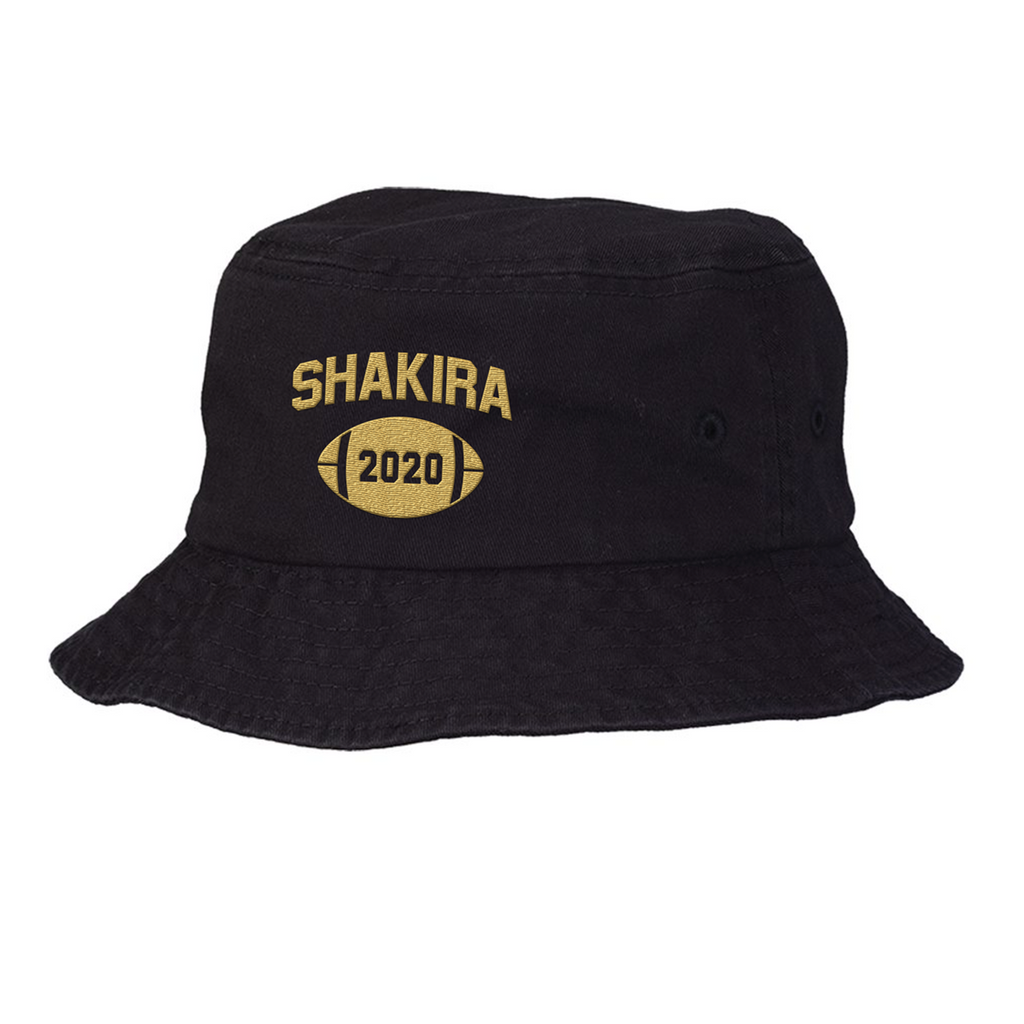 Shakira Halftime Bucket Hat - Black