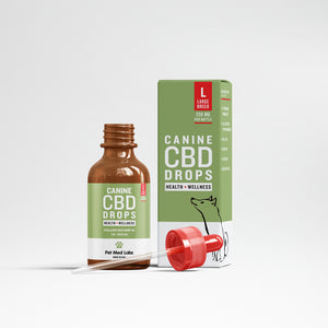 CANINE HEALTH + WELLNESS CBD DROPS: Large Breed - Pet Med Labs