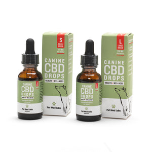 CANINE HEALTH + WELLNESS CBD DROPS: Small Breed - Pet Med Labs