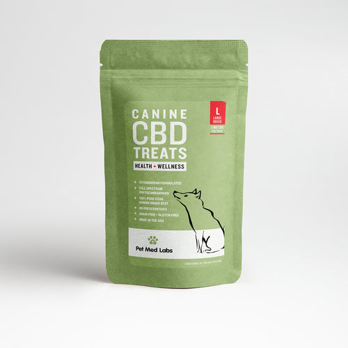 CANINE HEALTH + WELLNESS CBD TREATS: Large Breed - Pet Med Labs