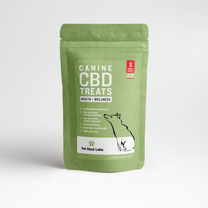 CANINE HEALTH + WELLNESS CBD TREATS: Small Breed - Pet Med Labs