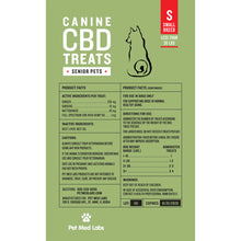 Load image into Gallery viewer, CANINE SENIOR CBD TREATS: Small Breed - Pet Med Labs