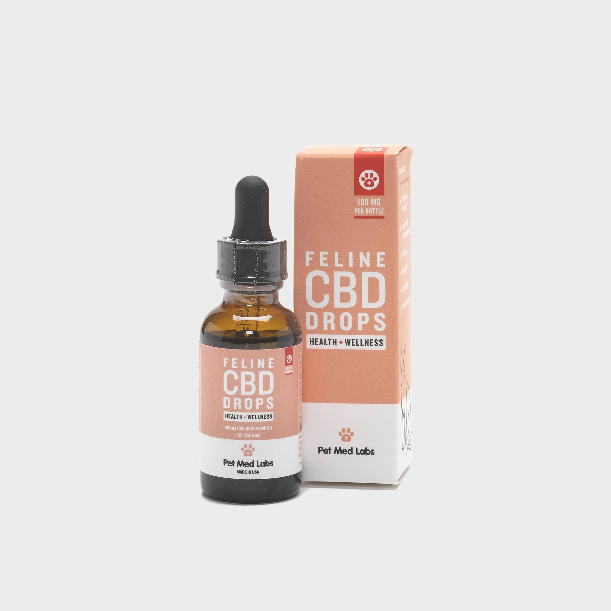 FELINE CBD DROPS - Pet Med Labs