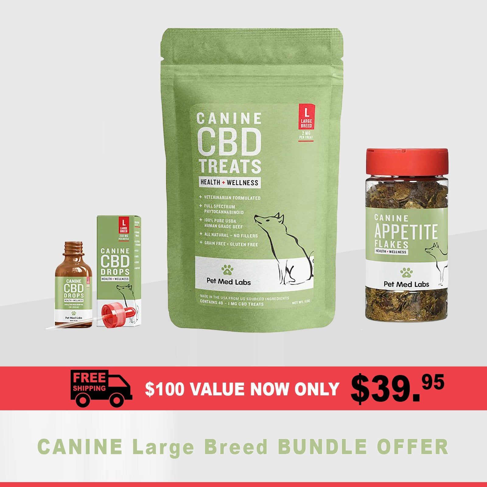 SHOW SPECIAL : Canine Bundle, Large Breed - Pet Med Labs