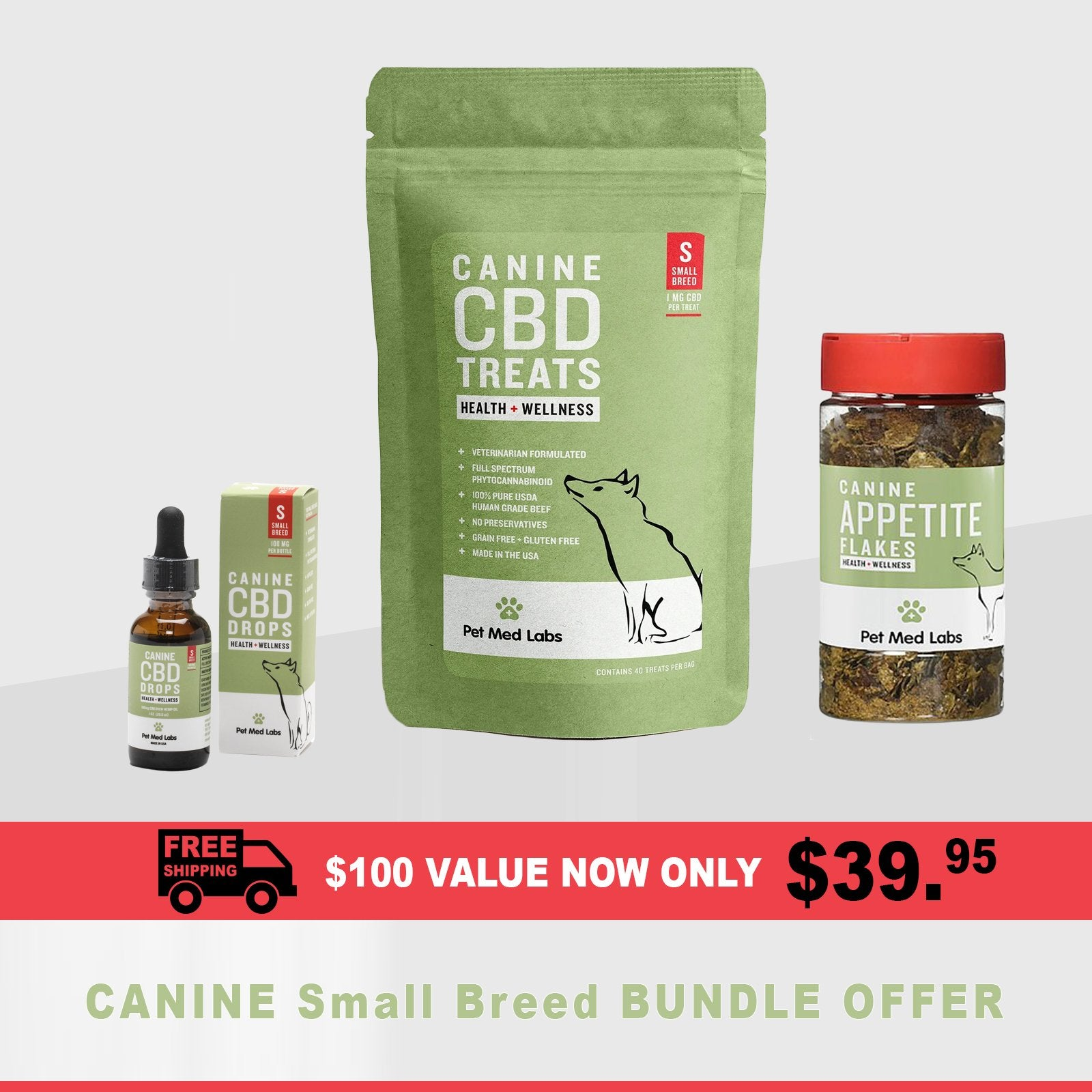 SHOW SPECIAL : Canine Bundle, Small Breed - Pet Med Labs