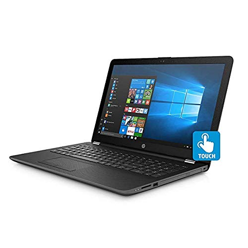 HP Touchscreen 15.6 inch HD Notebook , Intel Core i5-8250U Processor up to 3.40 GHz, 8GB DDR4, 2TB Hard Drive, Optical Drive, Webcam, Backlit Keyboard, Bluetooth, Windows 10 Home