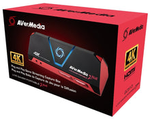 Load image into Gallery viewer, AVerMedia Live Gamer Portable 2 Plus, 4K Pass-Through, 4K Full HD 1080p60 USB Game Capture, Ultra Low Latency, Record, Stream, Plug & Play, Party Chat for Xbox, Playstation, Nintendo Switch (GC513)