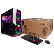 Load image into Gallery viewer, CYBERPOWERPC Gamer Xtreme VR GXiVR8060A5 Gaming PC (Intel i5-8400 2.8GHz, 8GB DDR4, NVIDIA GeForce GTX 1060 3GB, 120GB SSD, 1TB HDD, WiFi & Win 10) Black