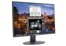 "Load image into Gallery viewer, Sceptre E225W-19203R 22"" Ultra Thin 75Hz 1080p LED Monitor 2x HDMI VGA Build-in Speakers, Metallic Black 2018"