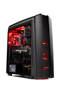 Skytech Gaming ST-SHADOW-II-002 Gaming Computer Desktop PC AMD Ryzen 5 1400,GTX 1060 3GB, 1TB HDD,16 GB DDR4, Windows 10 Home, Black