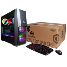 Load image into Gallery viewer, CYBERPOWERPC Gamer Supreme Liquid Cool SLC9000CPG Gaming PC (Intel i7-8700K 3.7GHz, 32GB DDR4, NVIDIA GeForce RTX 2080 Ti 11GB, 480GB SSD, 3TB HDD, 802.11AC WiFi & Win 10 Home) Black