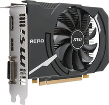 Load image into Gallery viewer, MSI Gaming Radeon RX 550 128-bit 4GB GDRR5 DirectX 12 VR Ready Graphcis Card (RX 550 AERO ITX 4G OC)