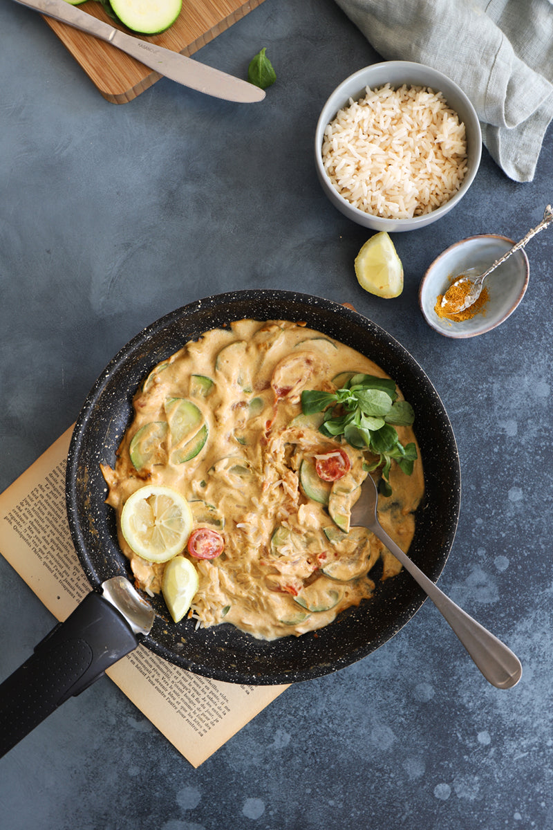 Recette du curry vegan par Pastryandtravel