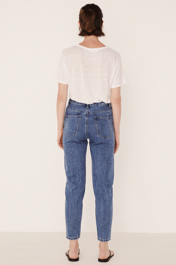 High Waist Rigid jean
