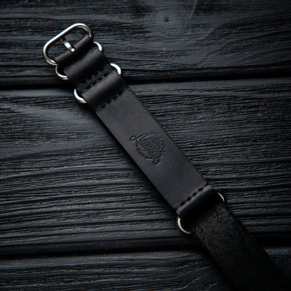 Leather Nato Strap 22 mm