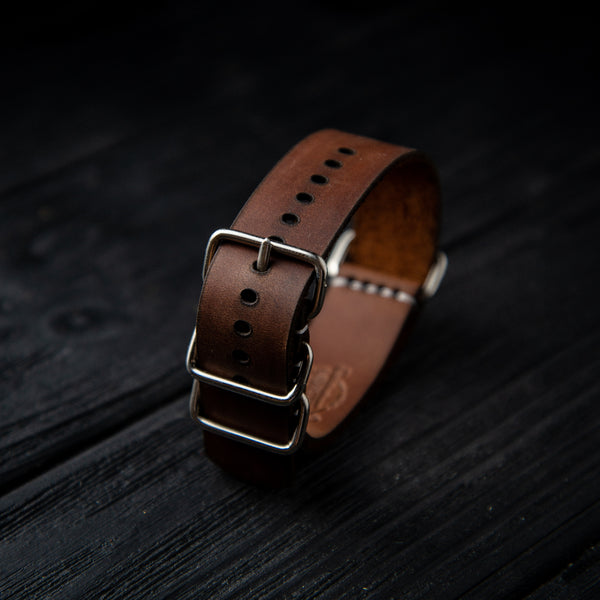 Leather Nato Strap 20 mm
