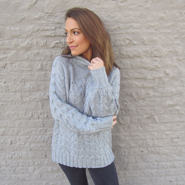 Cloudy Days Sweater