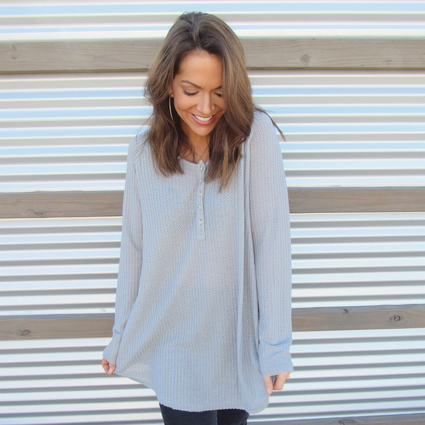 Grey Thermal Top