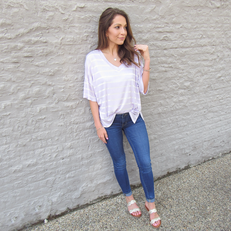 Lavender Hi-Low Tunic