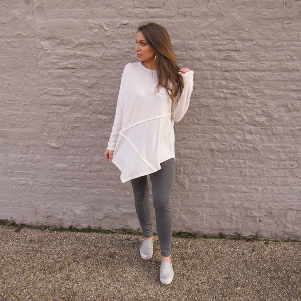 Exposed Seam Tunic