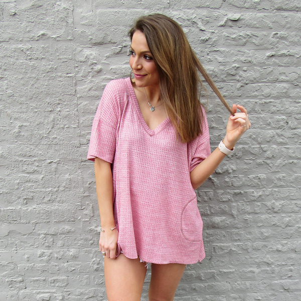 Grapefruit Pocket Tunic
