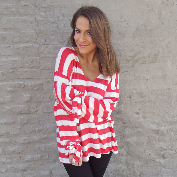 Candy Cane Top