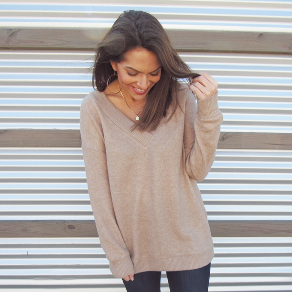 Honey V-Neck Sweater