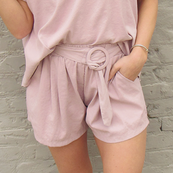 Rose Woven Shorts