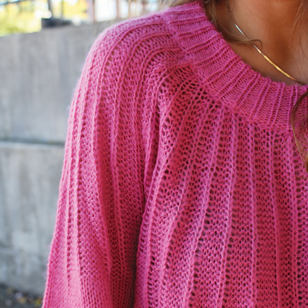 Rosy Knit Sweater