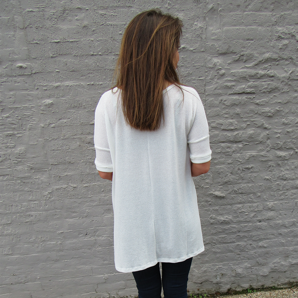 White Thermal Tunic