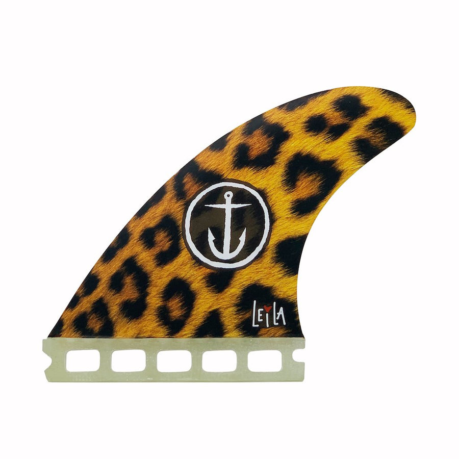 LEILA HURST CHEETAH (SINGLE TAB) - Captain Fin Co.