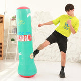 Punching ball enfants gonflable : back to school