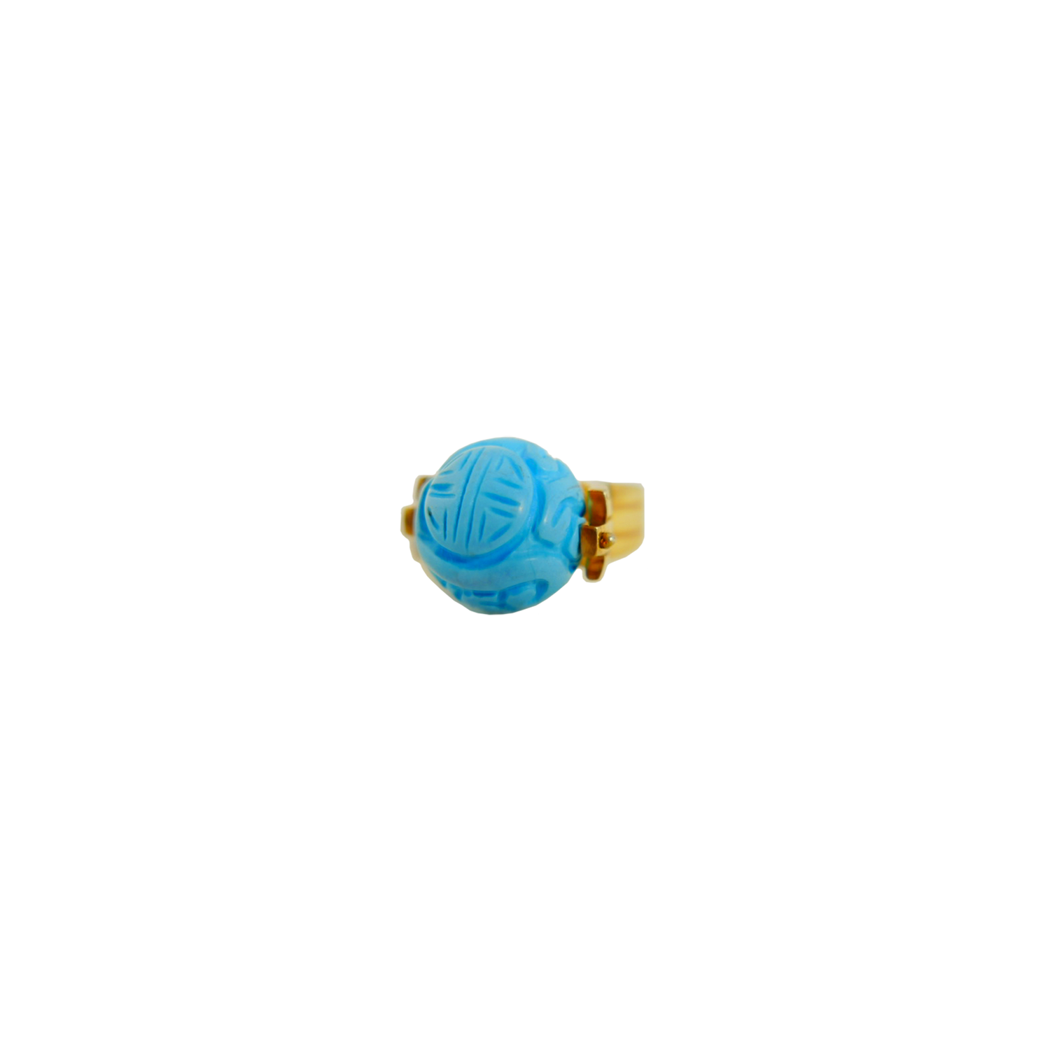 COPERNICUS CARVED TURQUOISE Ring
